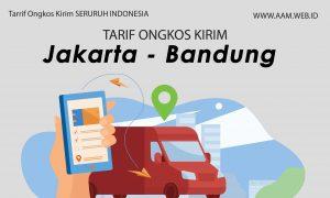 Ongkos Kirim Jakarta ke Bandung Terbaru