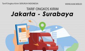 Ongkos kirim Jakarta Surabaya terbaru