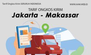 Ongkos kirim Jakarta Makassar terbaru