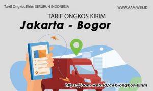 Ongkos Kirim Jakarta Bogor terbaru