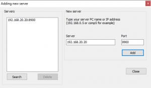 scanner dalam sambungan LAN