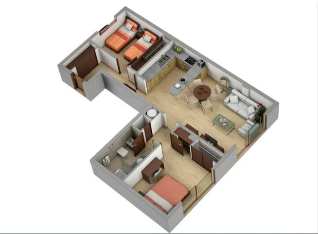 Memanfaatkan setiap ruangan sudur rumah