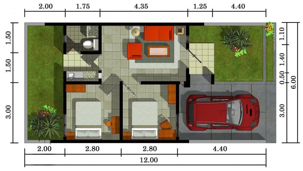 denah rumah paling banyak diminati (2)
